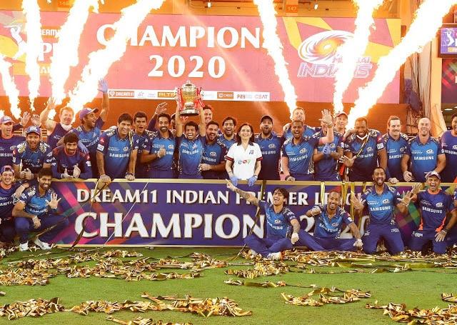 ipl 2020 winner mumbai indians
