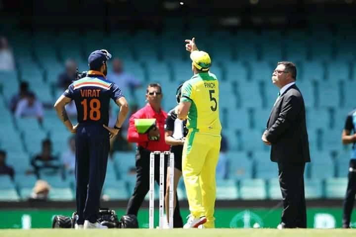 भारत विरुद्ध ऑस्ट्रेलिया वनडेत भारताचा विजय
