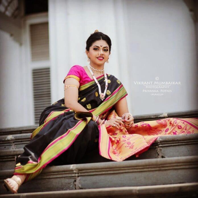 marathi actresses in festival look