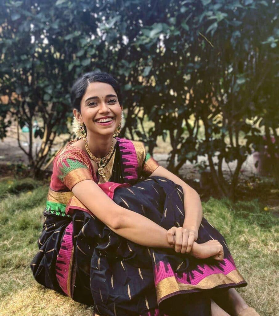 marathi actresses festival look