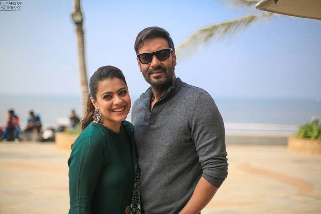 Ajay Devgan and Kajol