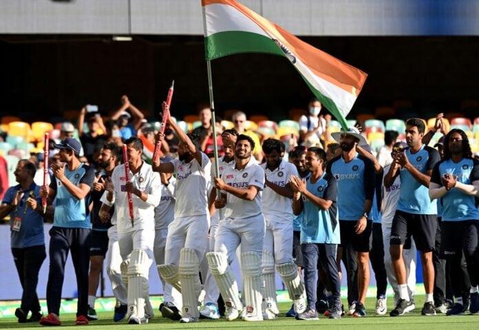 Team India wins Brisbane Test against Australia