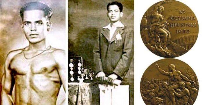 Wrestler Khashaba Jadhav's first individual Olympic medal