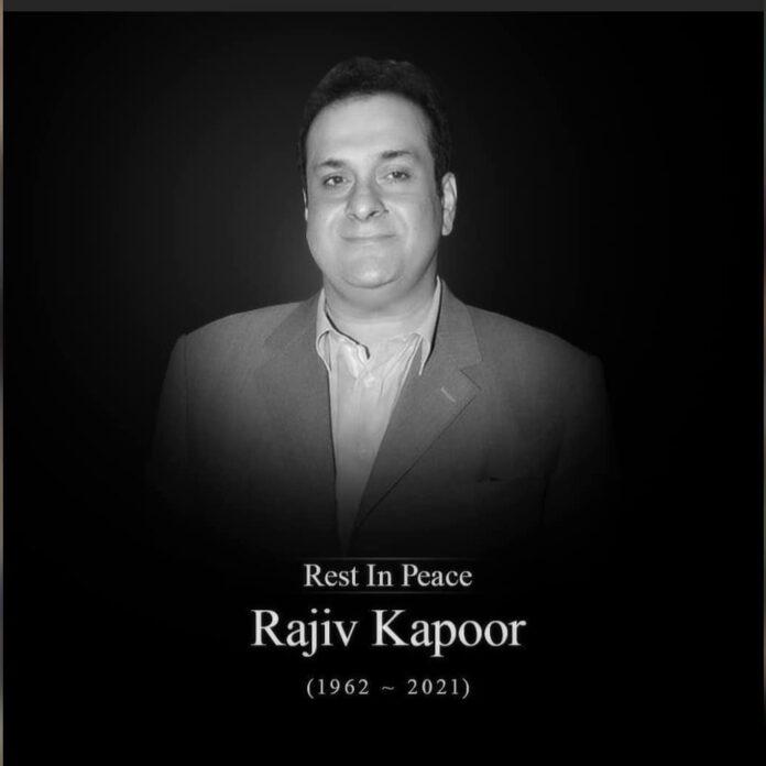 Actor Rajiv Kapoor passes away
