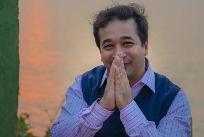 Nitesh Rane wishes ShivSena a Happy Valentine's Day