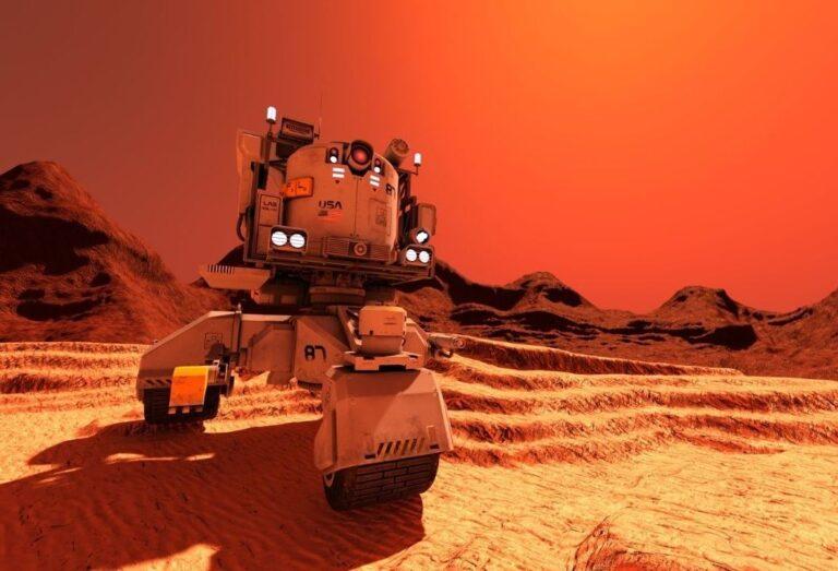 अमेरिकेच्या यानाचे मंगळावर लँडिंग