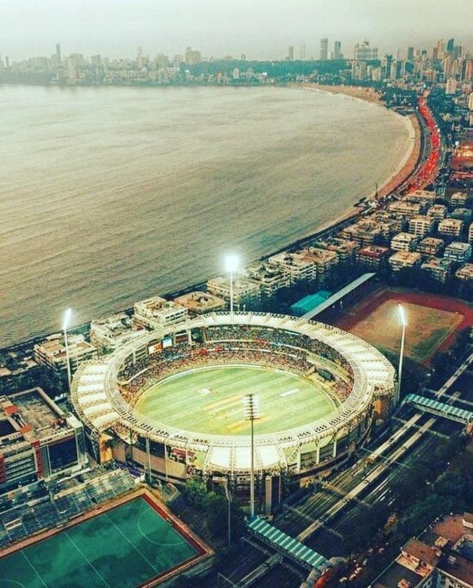 wankhede stadium drone shoot