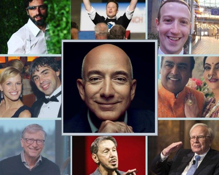 फोर्ब्सने जाहीर केली जगातील सर्वात श्रीमंत व्यक्तींची यादी